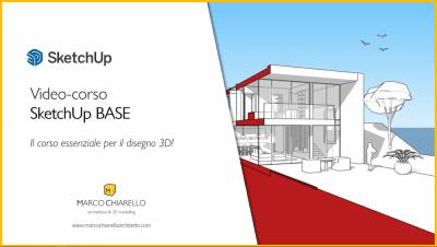 Video-corso SketchUp Pro 2021 BASE