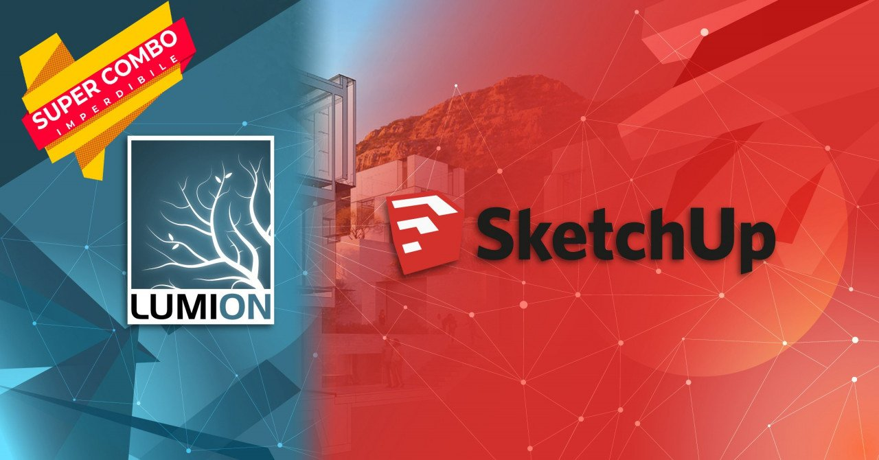 Corso certificato Sketchup+Lumion ONLINE con CFP
