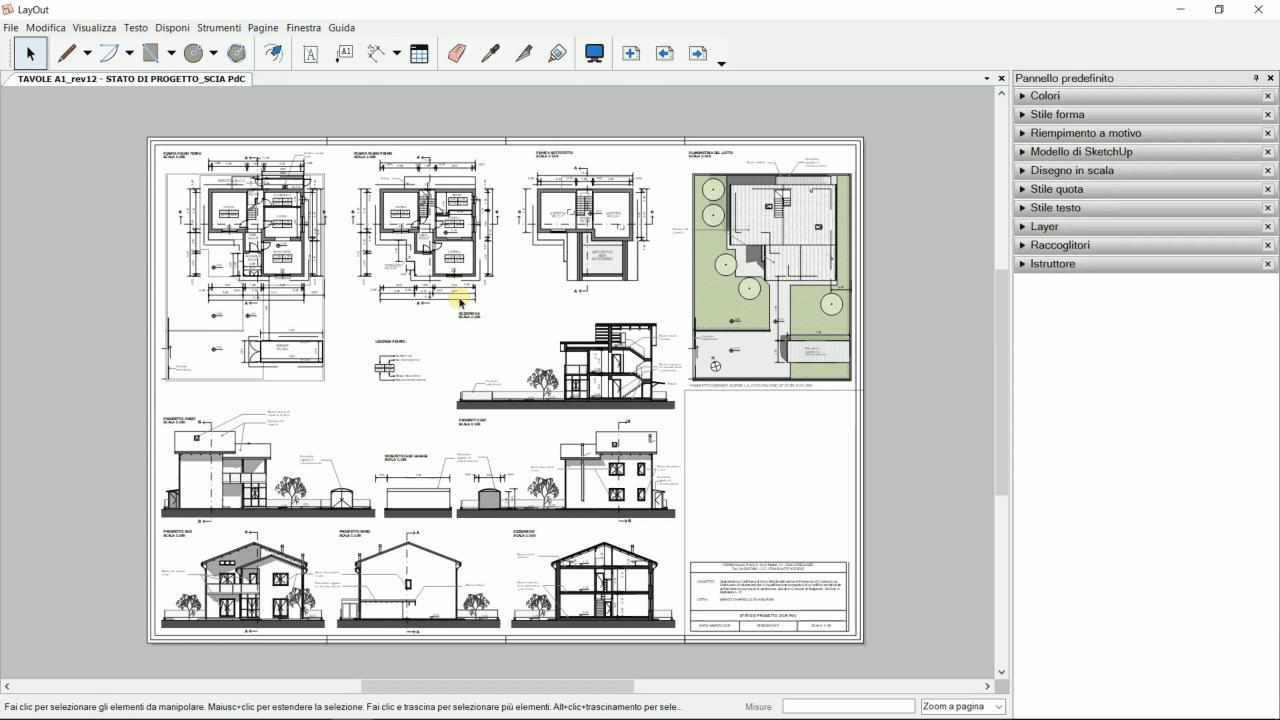 Video-corso SketchUp per l'Architettura