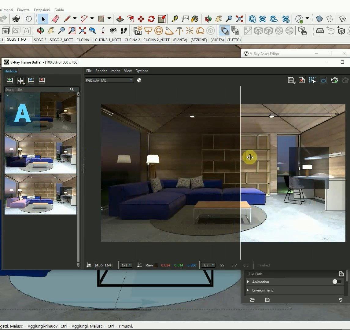 Video-corso V-Ray for SketchUp BASE