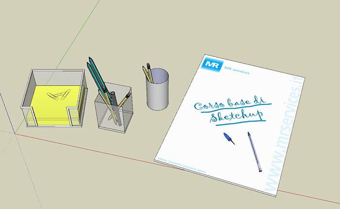 Corso base di SketchUp Mr Services